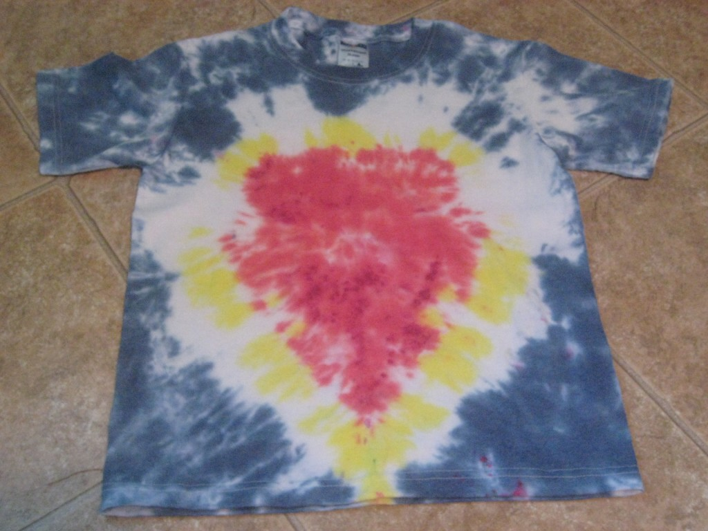Sacred Heart Tie-Dye T-shirts