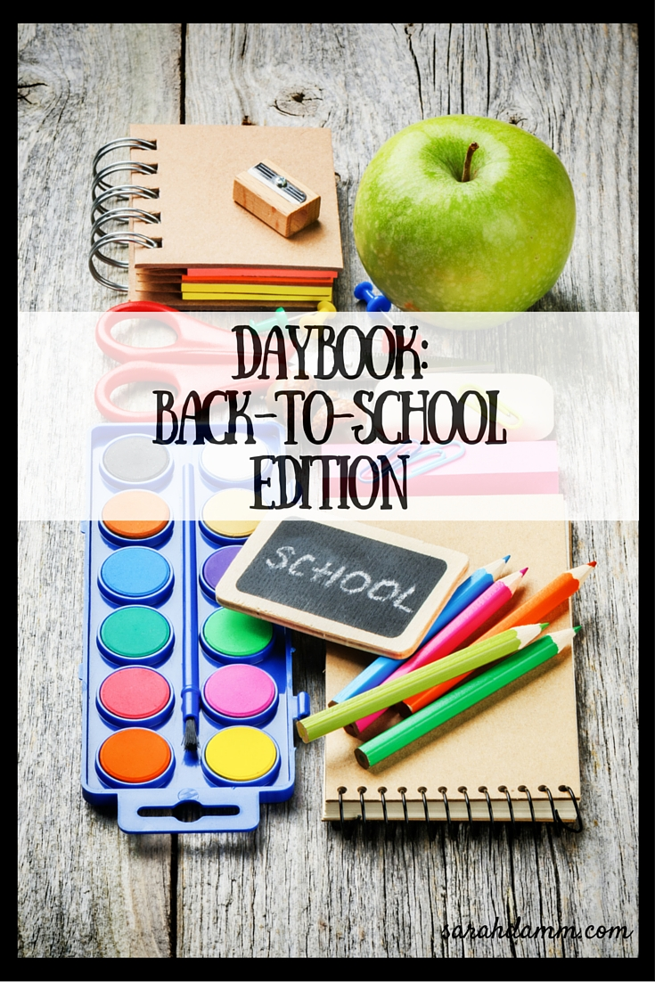 Daybook __Back-to-School Edition