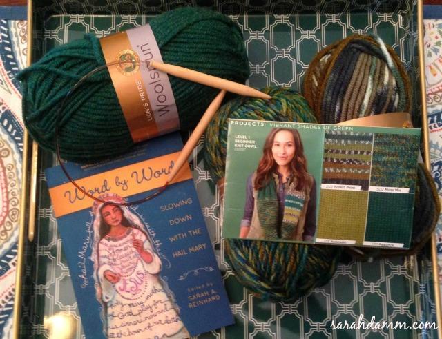 Yarn Along 1
