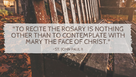 rosary quote
