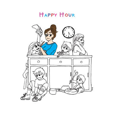 """Happy Hour"" by Brenna Kielty for Salutare. Used with permission."