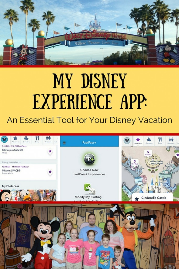 My Disney Experience App: An Essential Tool for Your Disney Vacation
