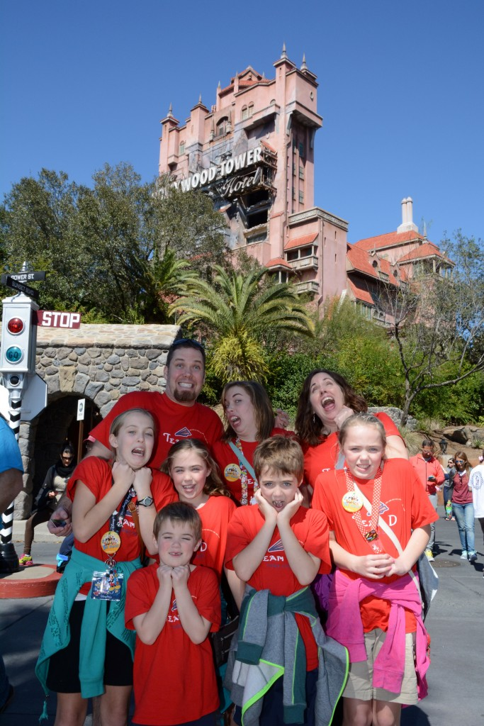 Tower of Terror had us jumping out of our seats. What a thrill!