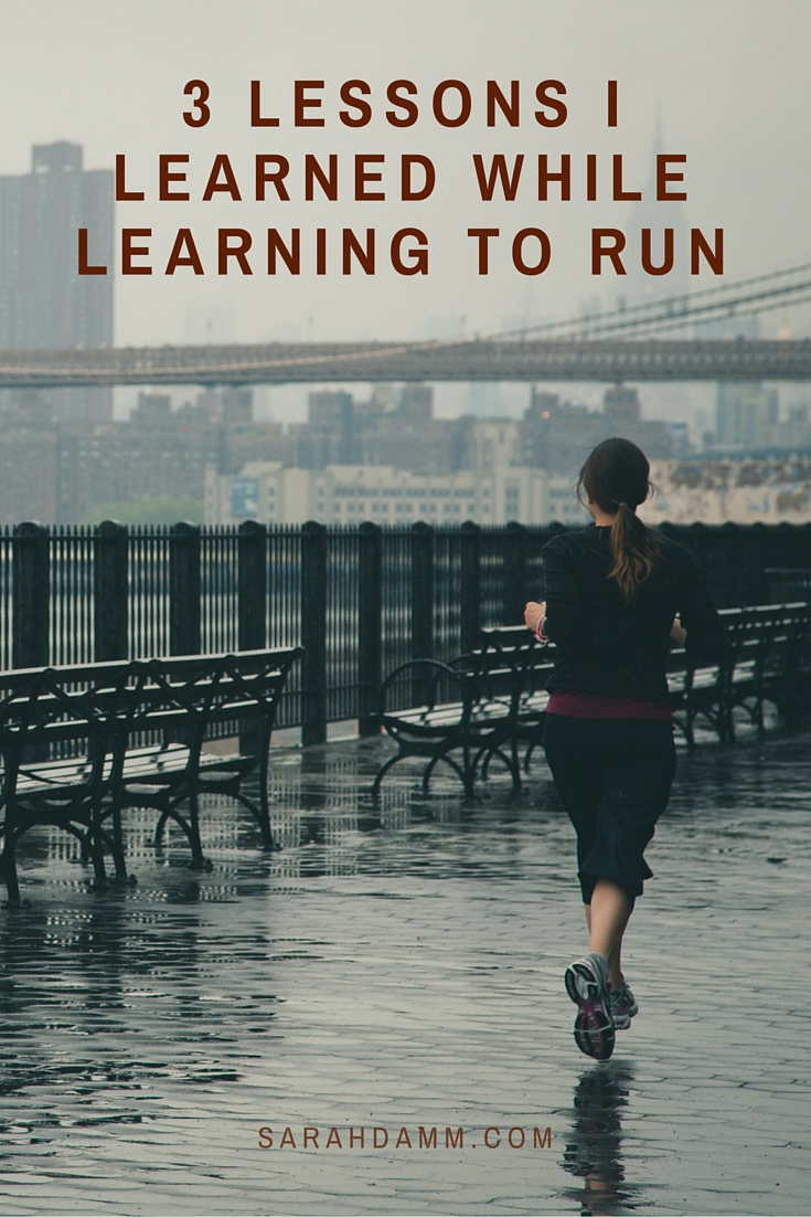 3 Lessons I Learned While Learning to Run