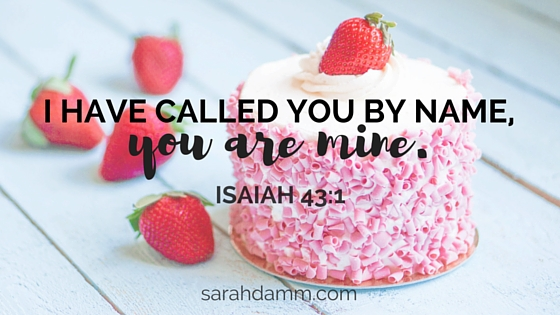 Celebrate! You Are God's Precious Daughter