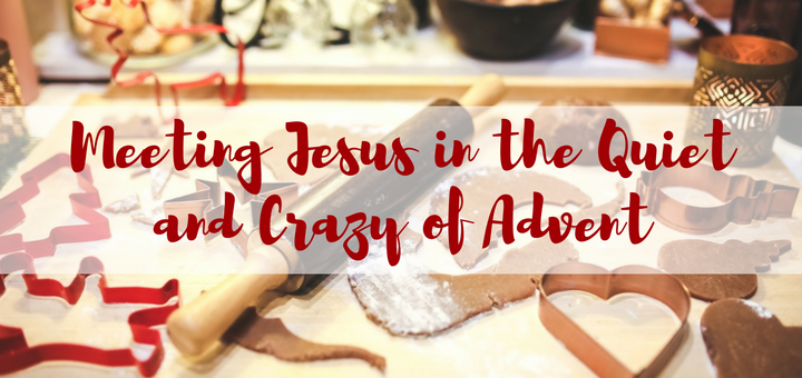 Meeting Jesus in the Quiet and Crazy of Advent | sarahdamm.com
