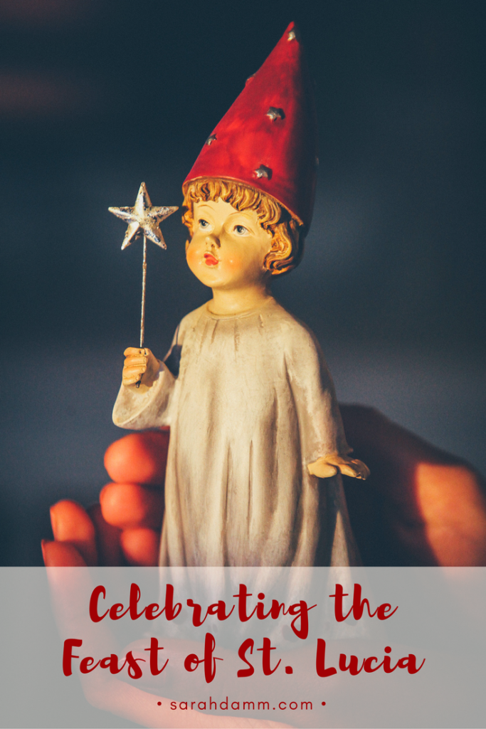 Celebrating the Feast of St. Lucia | sarahdamm.com