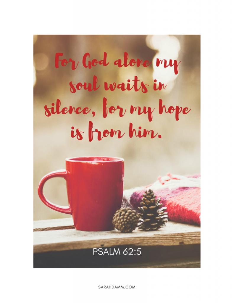 Advent's Thrill of Hope Against Hope | sarahdamm.com