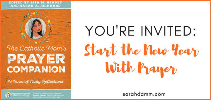 Start the New Year With Prayer | New Prayer/Book Club | sarahdamm.com