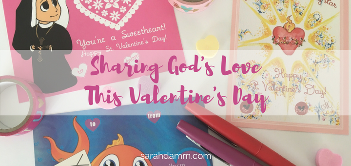 Sharing God's Love This Valentine's Day + Coupon Code | sarahdamm.com