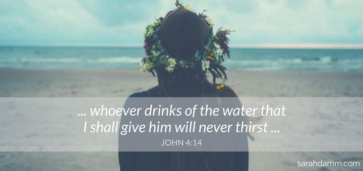 Thirsting for Souls: Jesus, the Samaritan Woman, and the Sacrament of Confession | sarahdamm.com