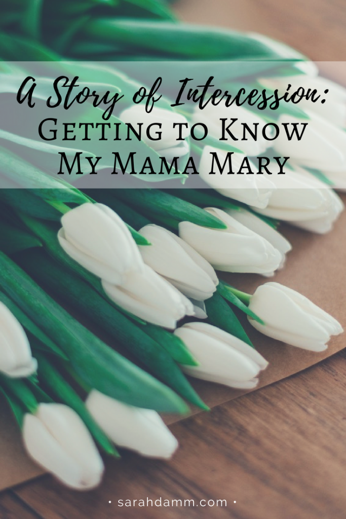 A Story of Intercession: Getting to Know My Mama Mary | sarahdamm.com