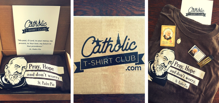 Catholic T-shirt Club Offers Ways to Live, Share Faith | sarahdamm.com