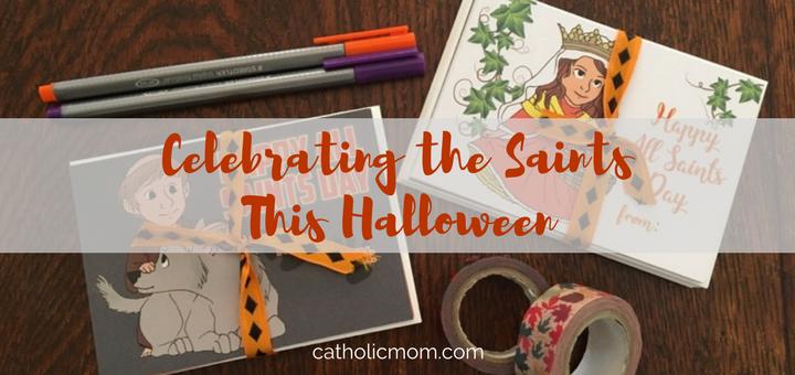 Celebrating the Saints This Halloween