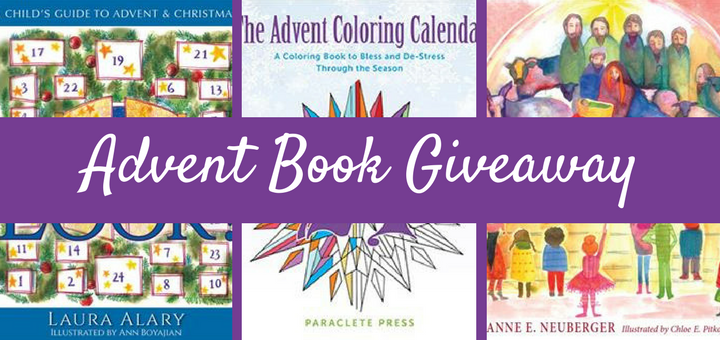Advent Book Giveaway Prepares Families for Christmas | sarahdamm.com