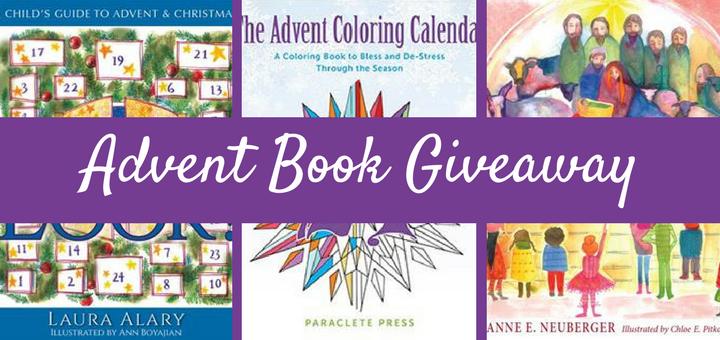 Advent Book Giveaway Prepares Families for Christmas | sarahdamm.com