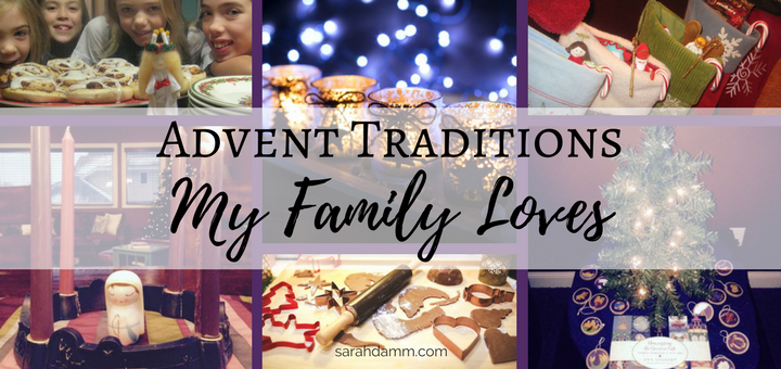 Advent Traditions My Family Loves | sarahdamm.com