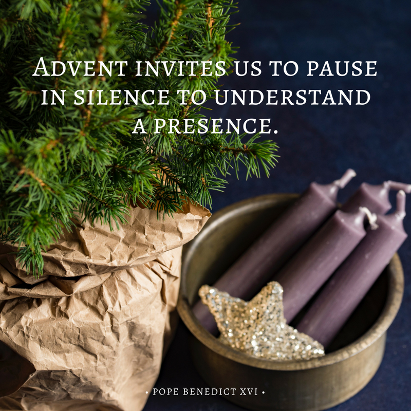 Waiting and Watching With Mary This Advent | sarahdamm.com