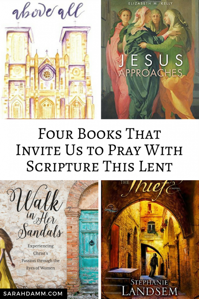 Four Spiritual Books Invite Us to Pray With Scripture This Lent | sarahdamm.com