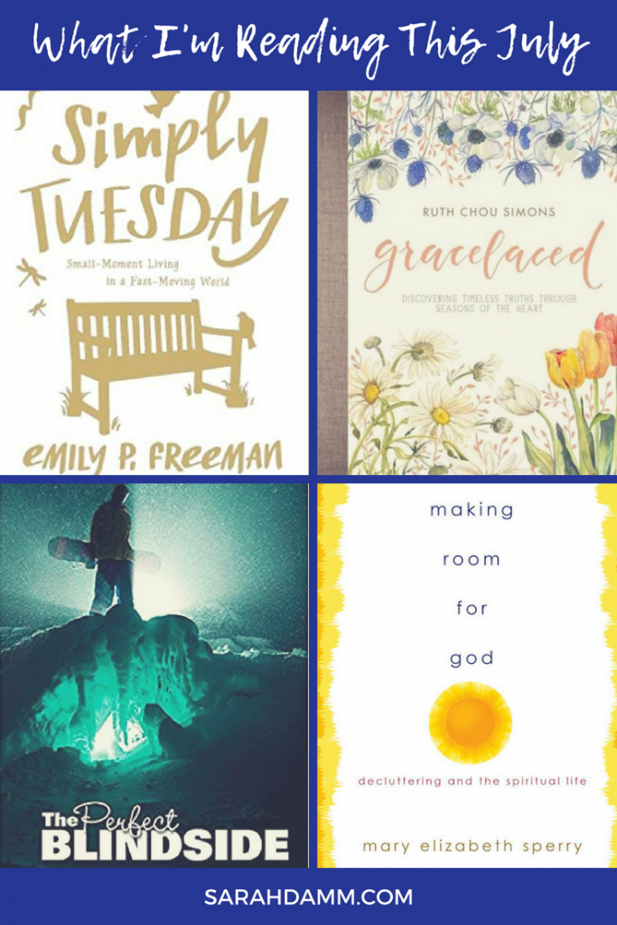 An Open Book: What I'm Reading This July | sarahdamm.com