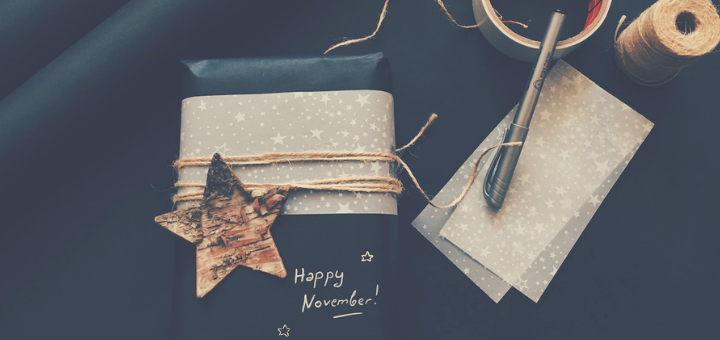 Being Present to November: It's Not Christmas Yet | sarahdamm.com