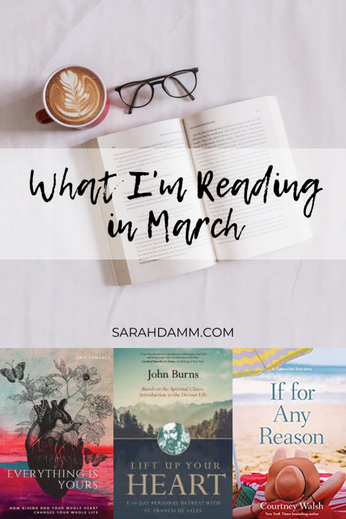 What I'm Reading in March | sarahdamm.com