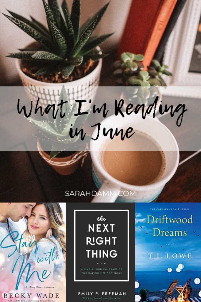 An Open Book: What I'm Reading in June | sarahdamm.com