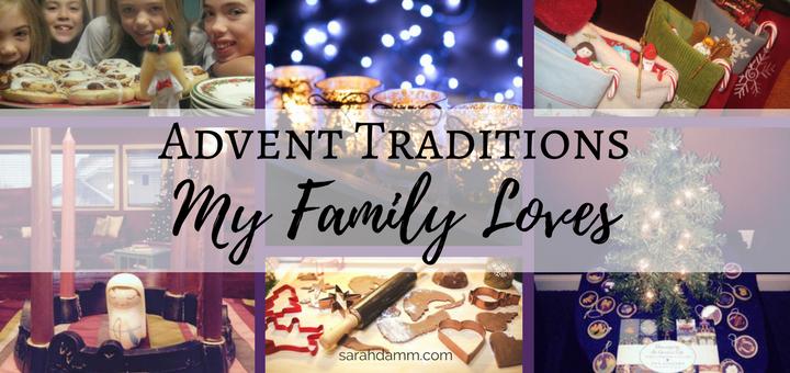 Advent Traditions My Family Loves | sarahdamm.com