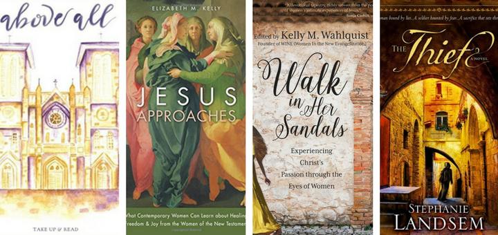 Four Spiritual Books Invite Us to Pray With Scripture This Lent | sarahdamm.com