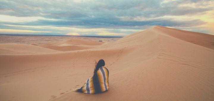 Led by the Spirit, We Enter the Desert | sarahdamm.com