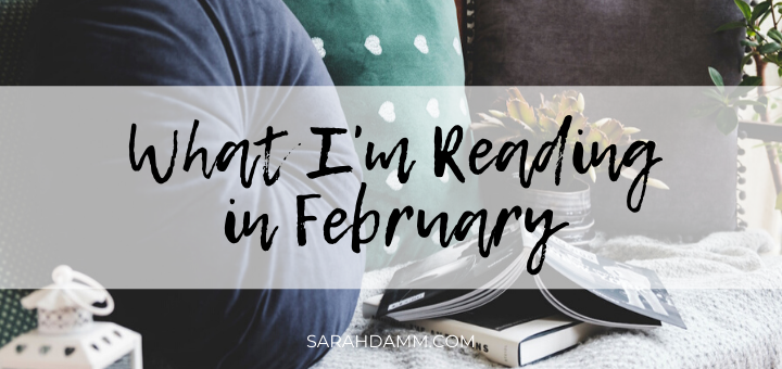 An Open Book: What I'm Reading in February   sarahdamm.com